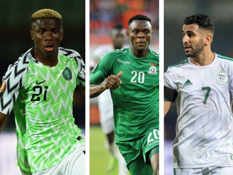 Osimhen, Daka, Mahrez make OFC's 2021 AFCON qualifiers Best XI