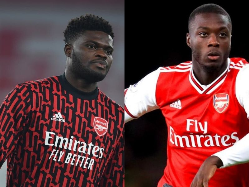Thomas Partey, Nicolas Pepe nominated for Arsenal Player of the Month