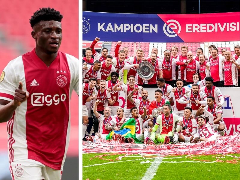 Mohammed Kudus wins first league title with Ajax Amsterdam
