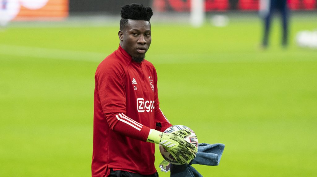 Andre Onana can put on his gloves from September this year.