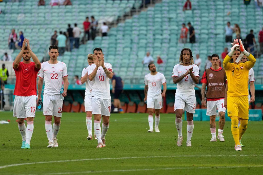 Switzerland are now 6 Euro games unbeaten.