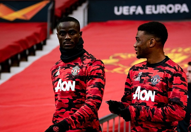 Manchester United duo Eric Bailly and Amad Diallo 650x450 1
