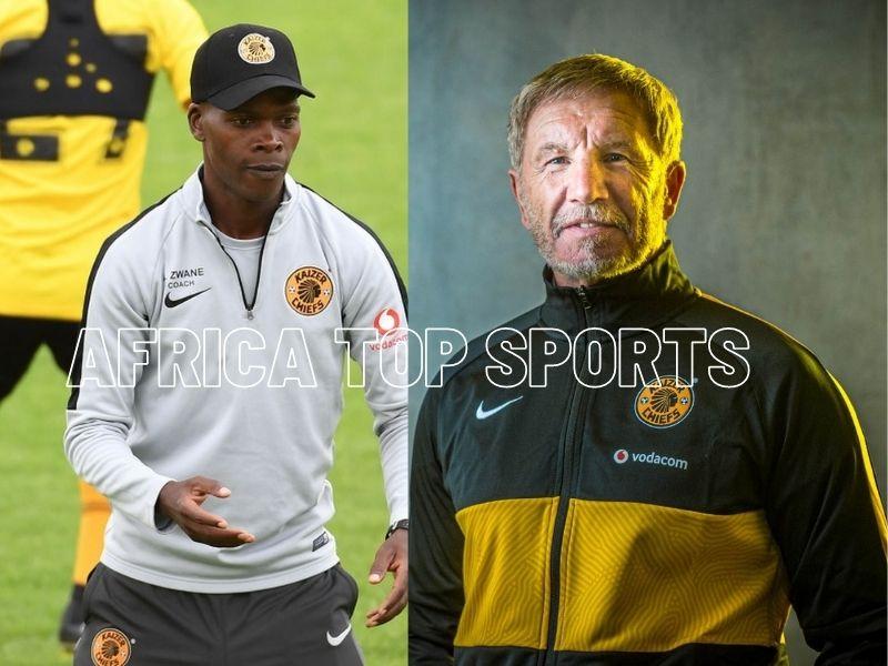 Stuart Baxter or Arthur Zwane on Kaizer Chiefs bench in CAF CL final