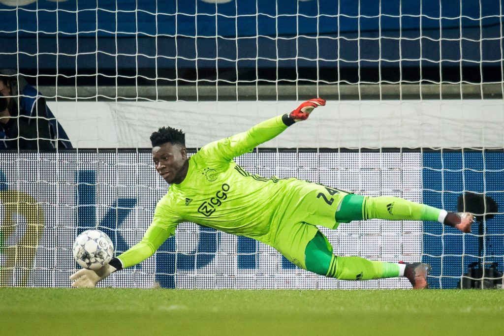 Andre Onana is said to be willing to join Lyon.