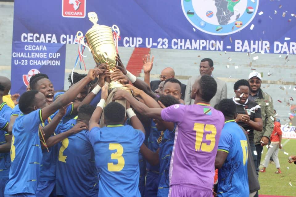 Tanzania win Cecafa U-23 Challenge Cup