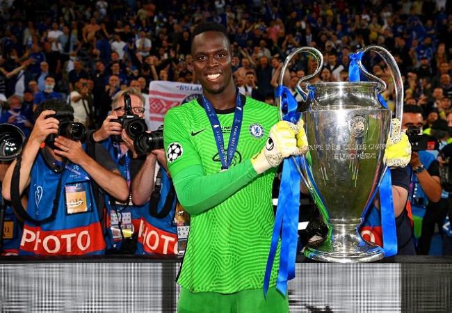 Chelsea's Edouard Mendy Shortlisted For Best Uefa Champions League Goalkeeper Award