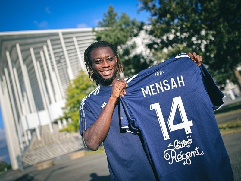 Gideon Mensah highly-rated Ghanaian left-back joins French side Bordeaux