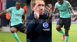 Graham Potter elated with Percy Tau and Enock Mwepu's first goals for Brighton