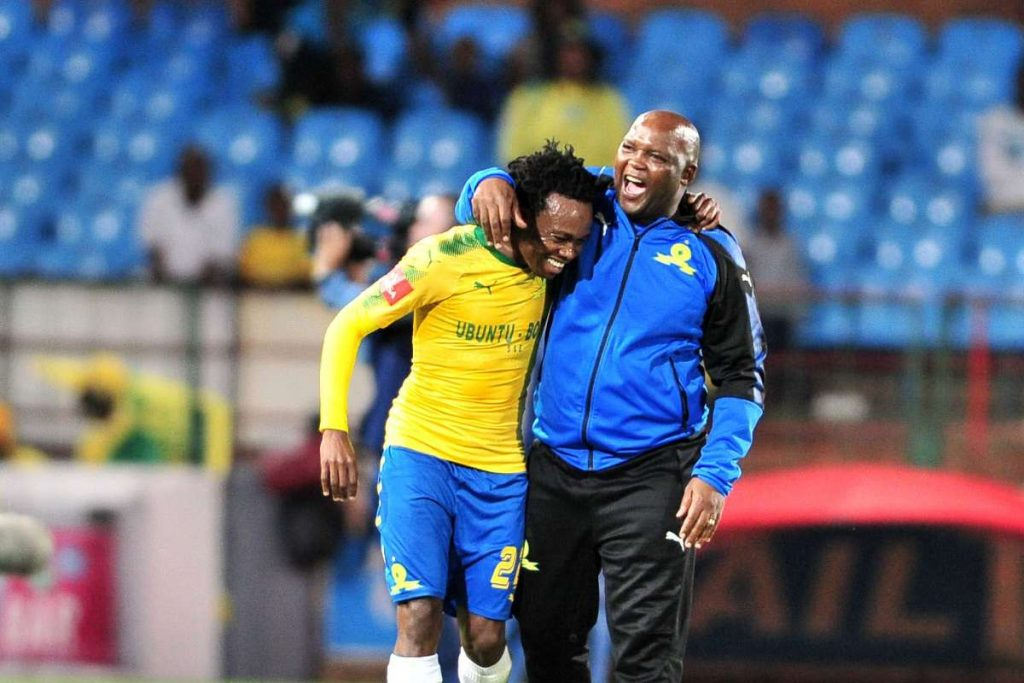 Pitso Mosimane and Percy Tau could reunite at Al Ahly.