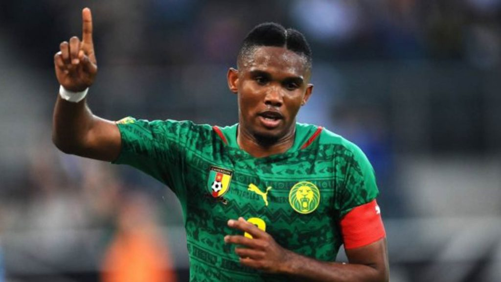 Now Eto'o wants to give back what Cameroon gave him.