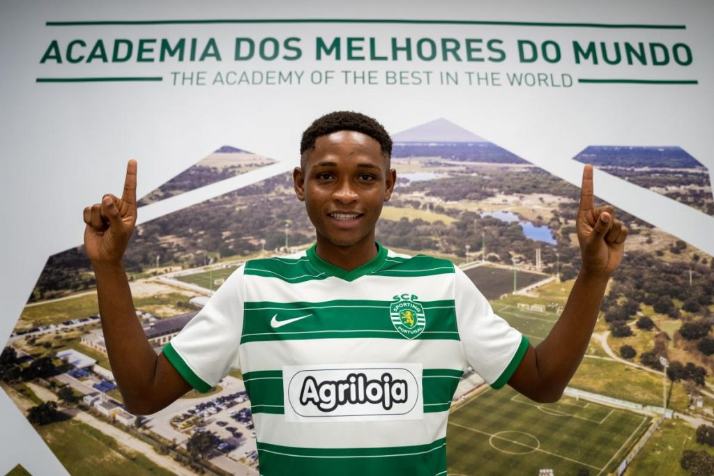 Lamarana Jallow : Gambian teenager joins Portuguese giants Sporting CP