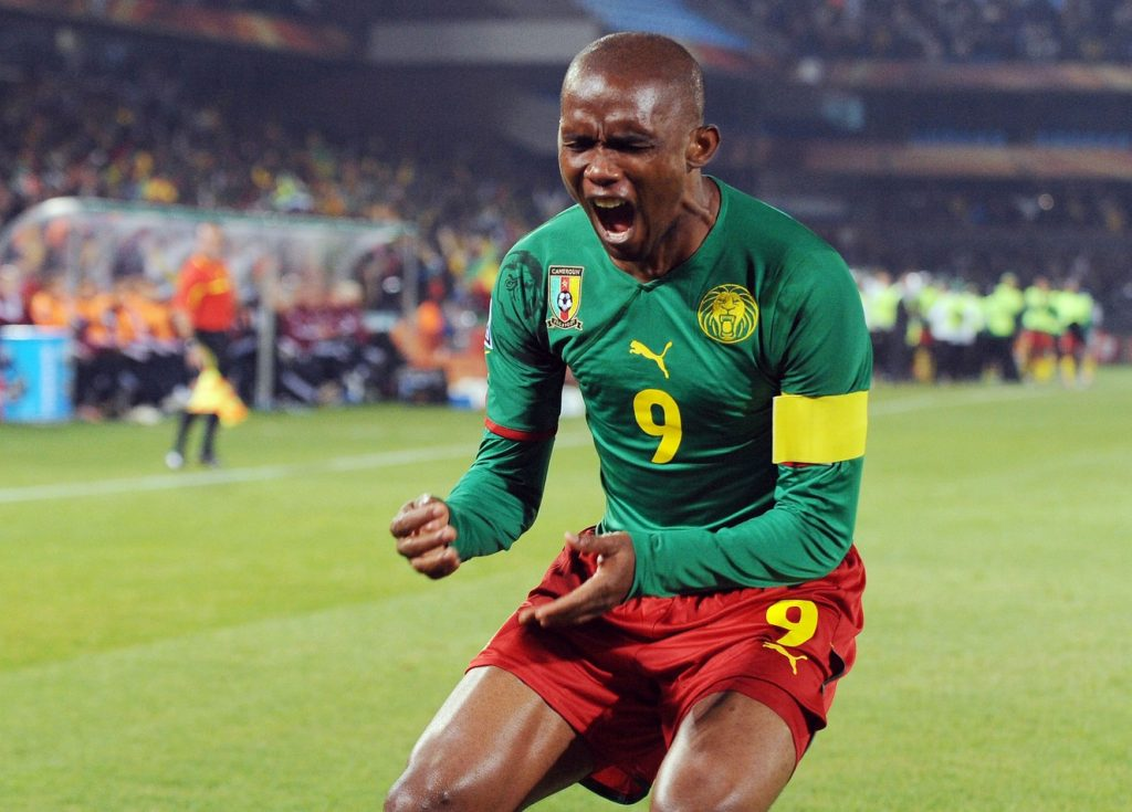 Samuel Eto'o won AFCON in 2000 and 2002.