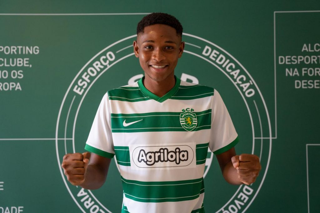 Lamarana Jallow feeling proud to join Sporting CP.