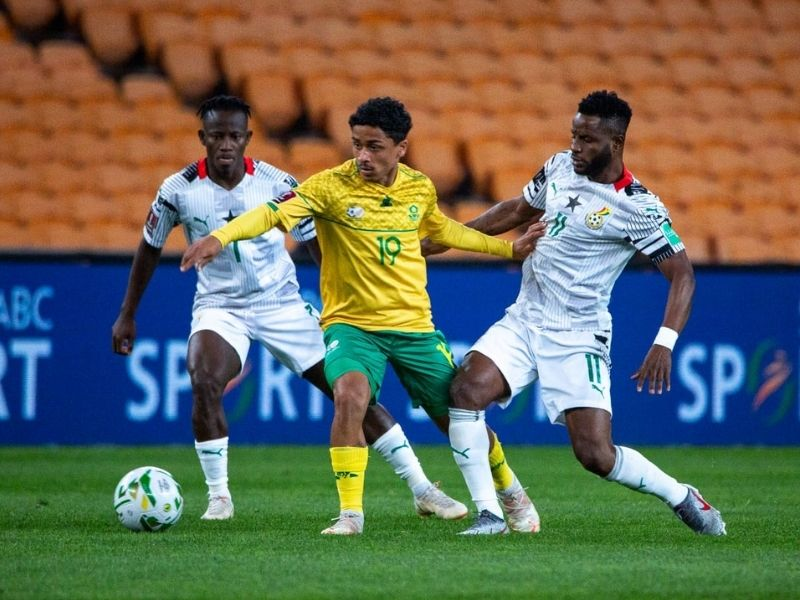2022 World Cup qualifiers : South Africa beat Ghana to top Group G