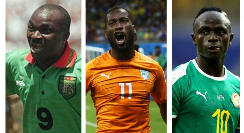 African all-time players