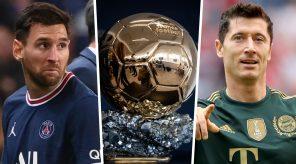 Messi Lewandowski