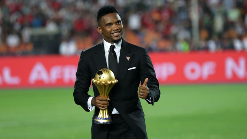 Samuel Eto'o is AFCON's all-time leading scorer with 18 goals.