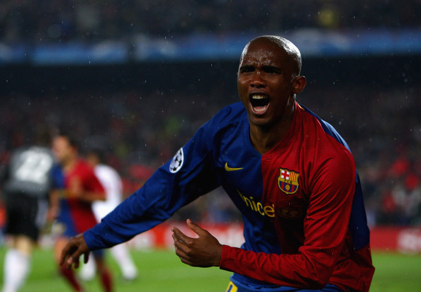 Samuel Eto'o wants to be the first 'Black' coach to win the UEFA Champions League.