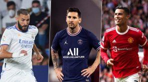 2021 Top scorers